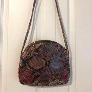 Judith Leiber Vintage Snakeskin Shoulder Bag
